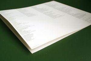 booklet schallplatte