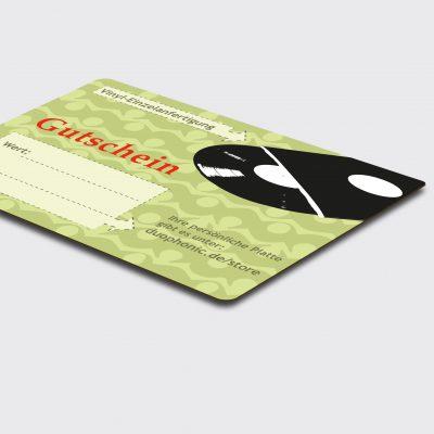 Vinyl cutting dubplate gutschein