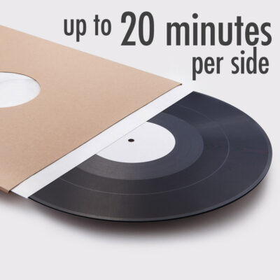 vinylcut additional playing time