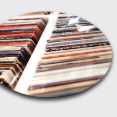 Picture disc vinylcut